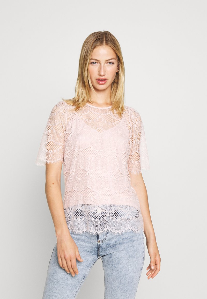 Forever New - ALICIA PUFF SLEEVE - Blouse - blush