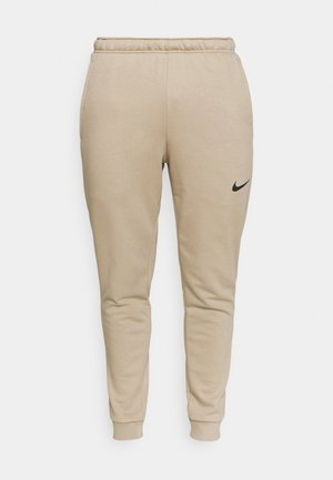 PANT TAPER - Pantalones deportivos - khaki/black
