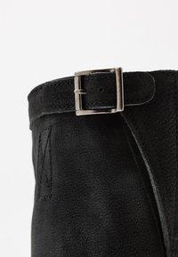 Felmini - COOPER - Cowboy/Biker boots - morat black - 2