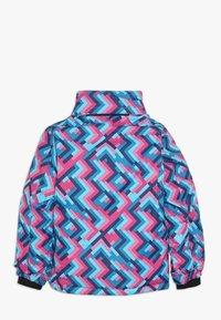 Kamik - TESSIE GRID - Vinterjacka - turquoise/neon pink - 2