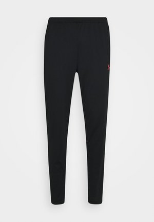 ACADEMY 21 PANT - Jogginghose - black/siren red