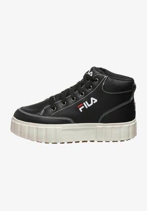 SANDBLAST L MID - Höga sneakers - black
