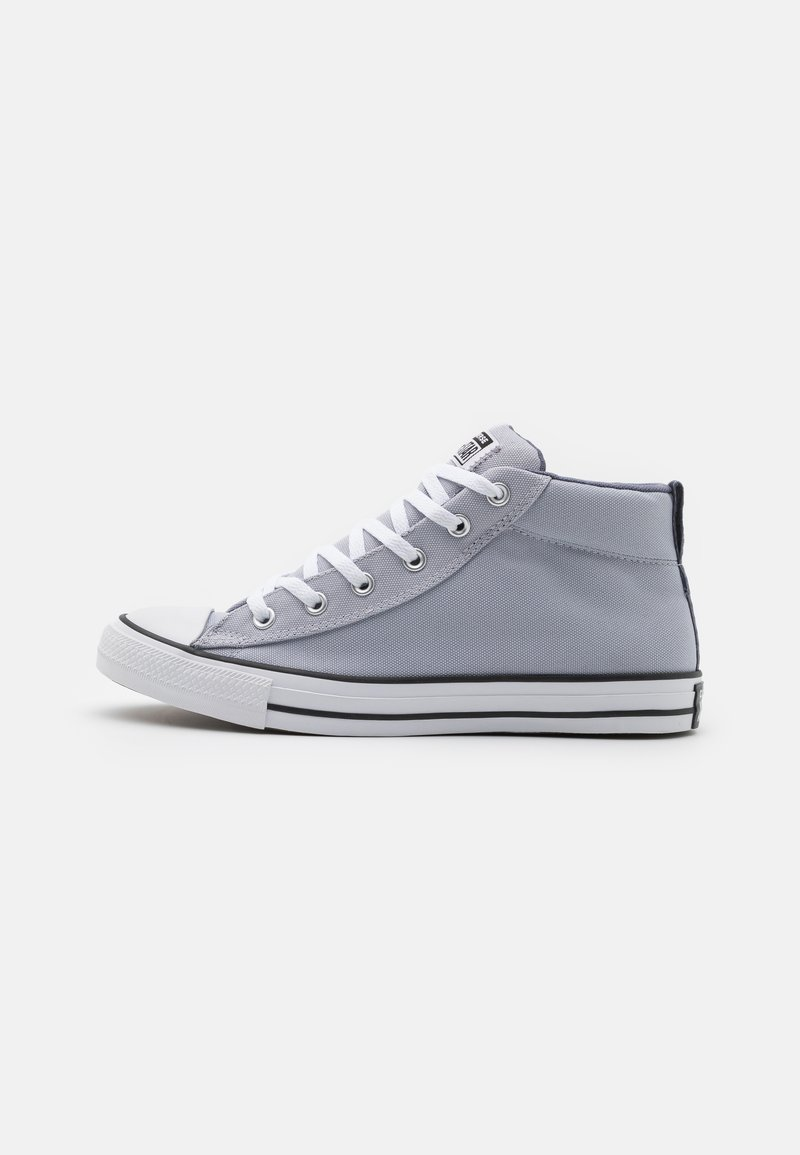 Converse - CHUCK TAYLOR ALL STAR STREET MID UNISEX - High-top trainers - gravel/ light carbon/white
