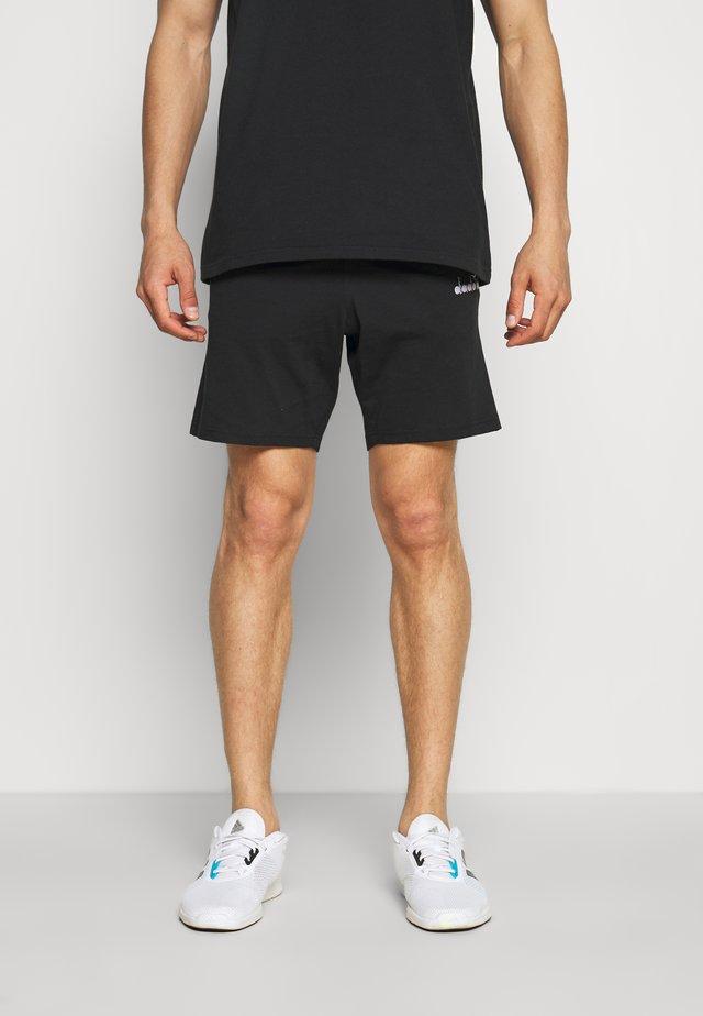 SHORT CORE - Korte broeken - black