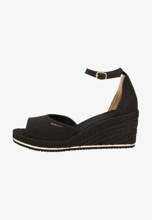 SANDALEN - Platform sandals - black g00
