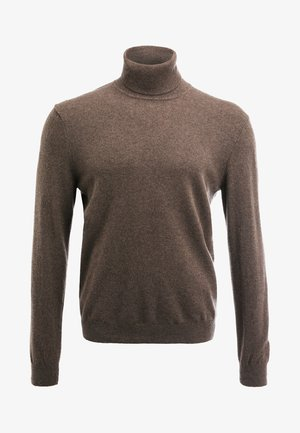 BASIC ROLL NECK - Jumper - braun