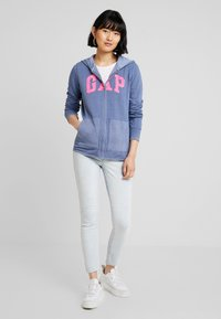 GAP - Mikina na zip - bainbridge blue - 1