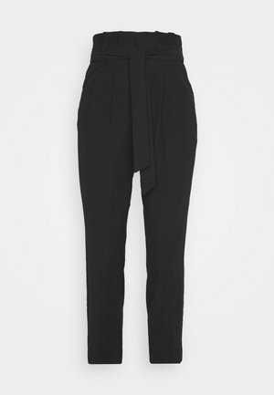 ONLSURI AINA PANTS - Trousers - black