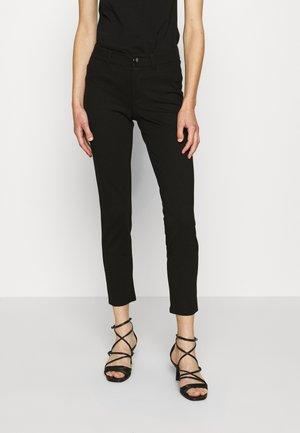 CURVE X - Trousers - jet black
