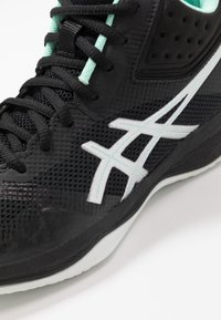 ASICS - NETBURNER BALLISTIC FF - Volleyball shoes - black/pure silver - 5