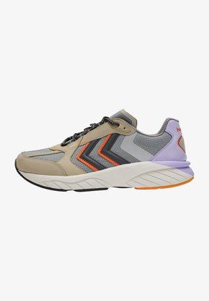 REACH LX 6000 NUBUCK - Sneakers - bone white/orange/pastel lilac