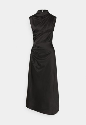 ALL DRAPES DRESS - Cocktail dress / Party dress - black
