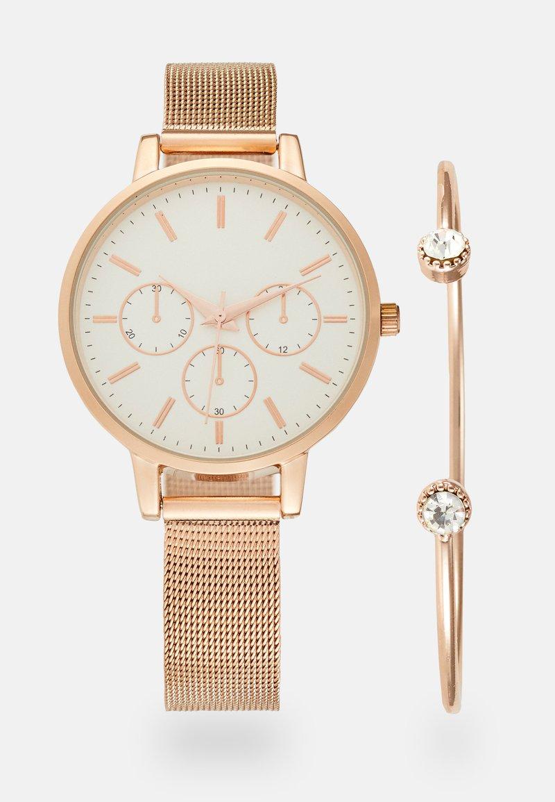 Anna Field - SET - Horloge - rosegold-coloured