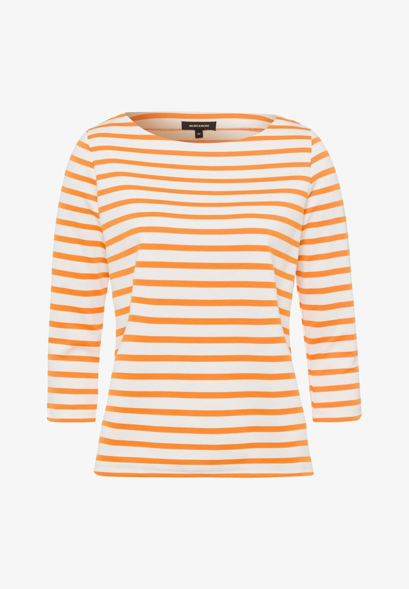 More & More - Long sleeved top - orange