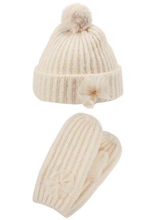 BOW BEANIE SET - Mütze - beige