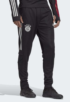 FC BAYERN TRAINING TRACKSUIT BOTTOMS - Club wear - black