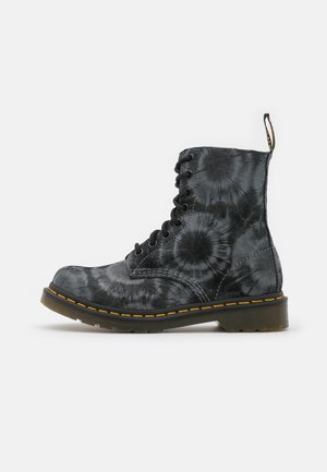 1460 PASCAL - Lace-up ankle boots - black/charcoal grey