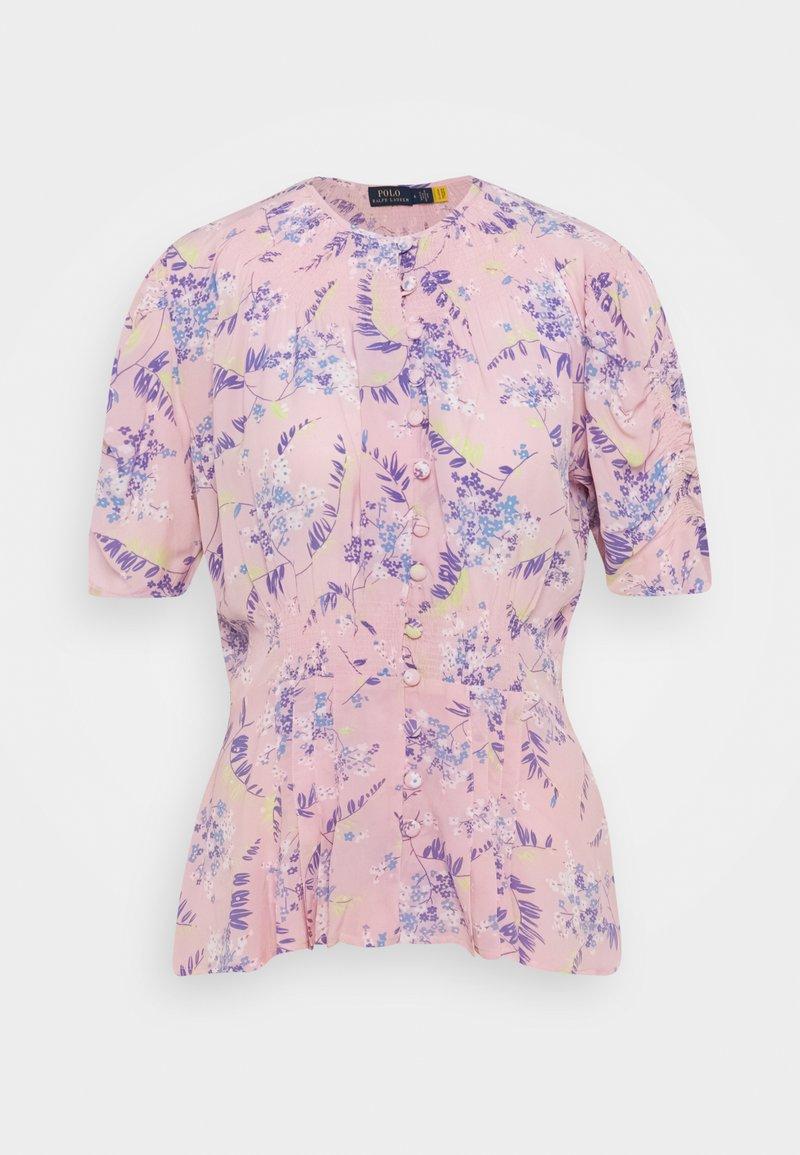 Polo Ralph Lauren - VINTAGE - Triko spotiskem - lavendar