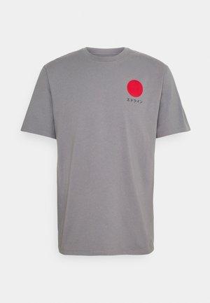 JAPANESE SUN UNIAWY - Print T-shirt - frost grey