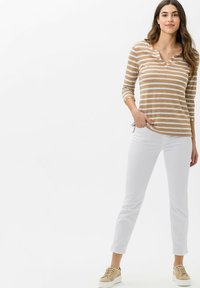 BRAX - STYLE CLAIRE - Long sleeved top - sand - 1
