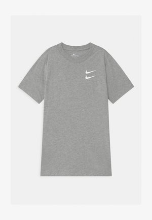T-shirt print - dark grey heather
