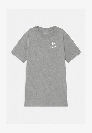 Print T-shirt - dark grey heather