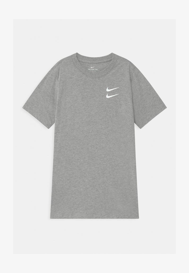 Nike Sportswear - Triko spotiskem - dark grey heather