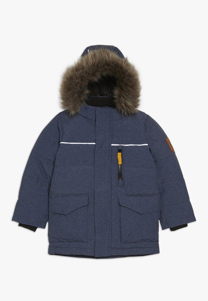Name it - NMMMANSON JACKET CAMP - Winter jacket - dark sapphire