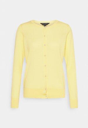 Cardigan - lemon