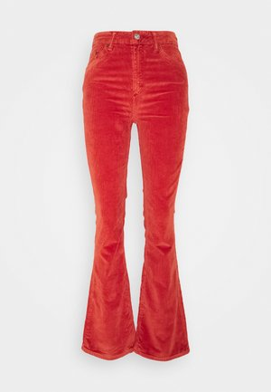 FLARE - Trousers - gingerbread