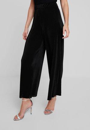 TRISHA TROUSERS - Pantalones - black