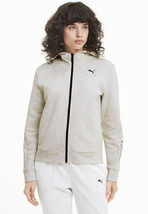 NU TILITY - Zip-up hoodie - white heather