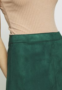ONLY - ONLLINEA BONDED - A-line skirt - pine grove - 4