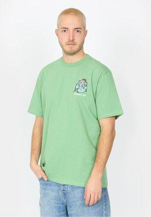 Basic T-shirt - mineral green