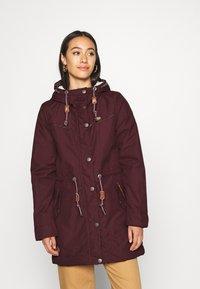 Ragwear - CANNY - Winter coat - wine red - 0