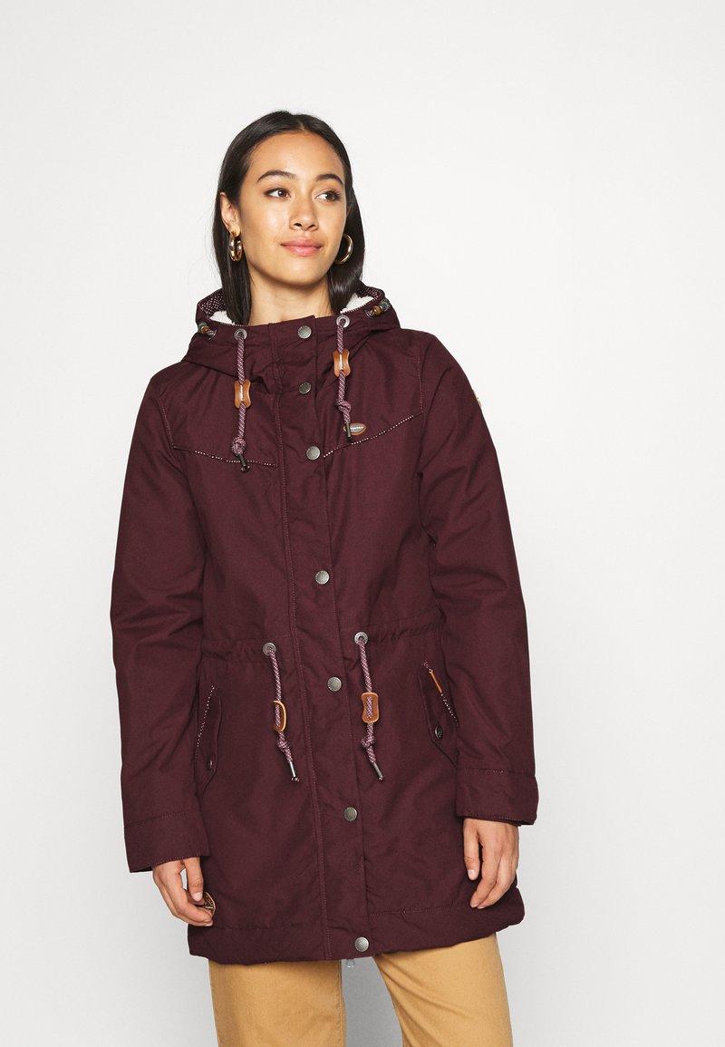 Ragwear - CANNY - Winter coat - wine red