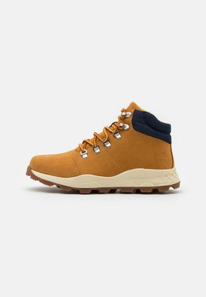 BROOKLYN HIKER - Korkeavartiset tennarit - wheat