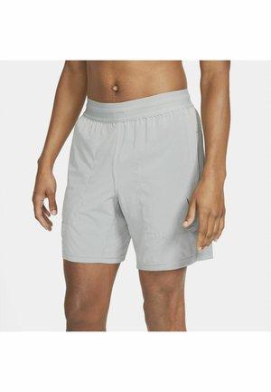 SHORT - Sports shorts - particle grey/(blk)