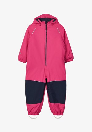 Snowsuit - fuchsia purple