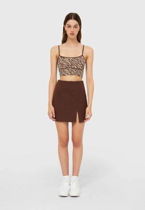 A-Linien-Rock - brown