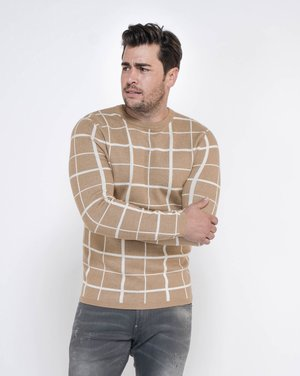MST CANYON ROUND NECK - Jumper - brown