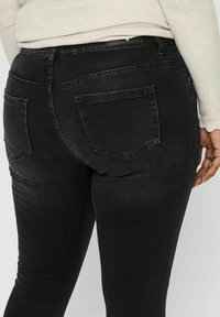 ONLY Carmakoma - Jeans Skinny Fit - black denim - 4