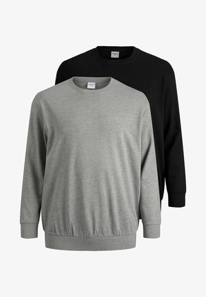 2 PACK - Sweater - black/grey