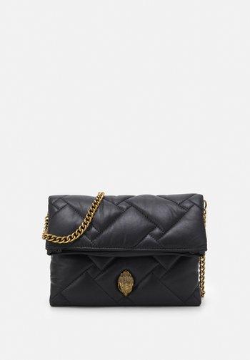 KENSINGTON SOFT FOLD BAG - Across body bag - black