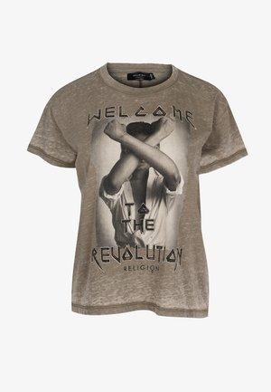 REVOLUTION  - T-shirt print - vetiver