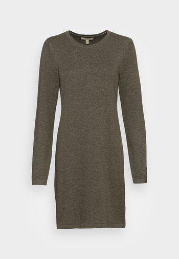 DRESS - Jumper dress - dark khaki