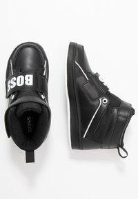 BOSS Kidswear - TURNSCHUHE - Sneaker high - schwarz - 0