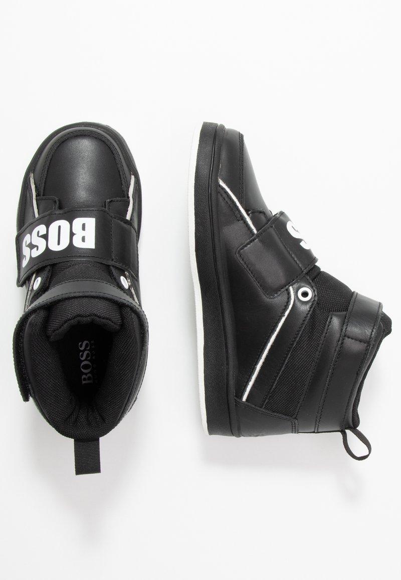 BOSS Kidswear - TURNSCHUHE - Sneaker high - schwarz