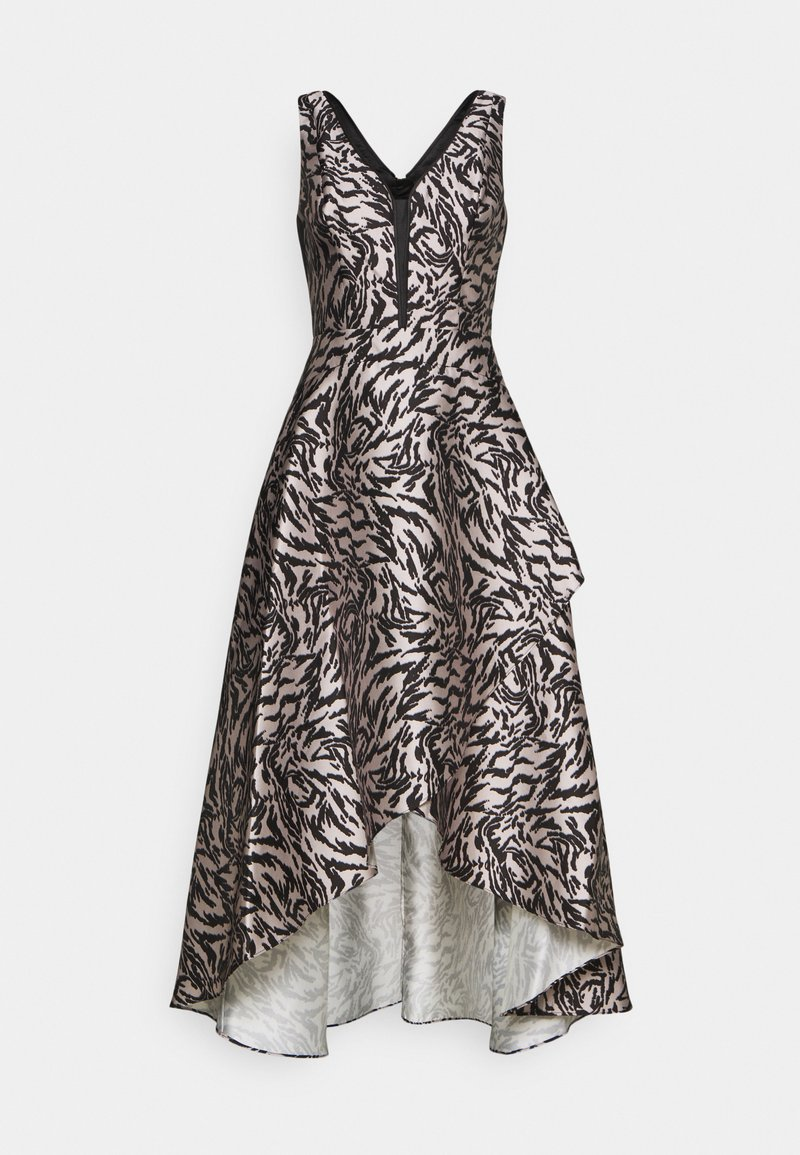 Adrianna Papell - MIKADO GOWN - Occasion wear - black/taupe