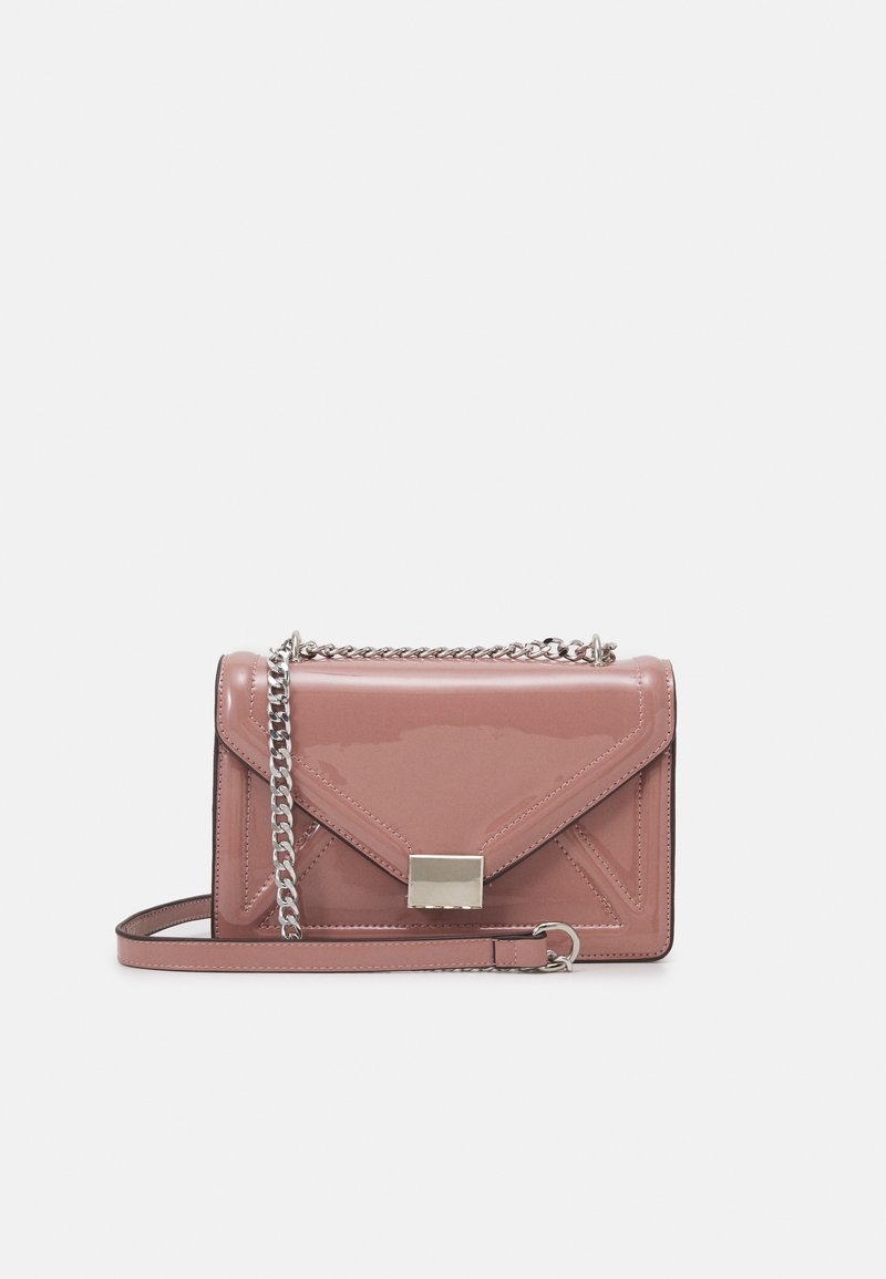 Dorothy Perkins - ENVELOPE BOXY XBODY BAG - Across body bag - blush